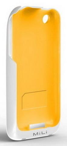 MiLi Power Skin (HI-C20) – дополнительный аккумулятор для iPhone 3G(S) (W-Orange)