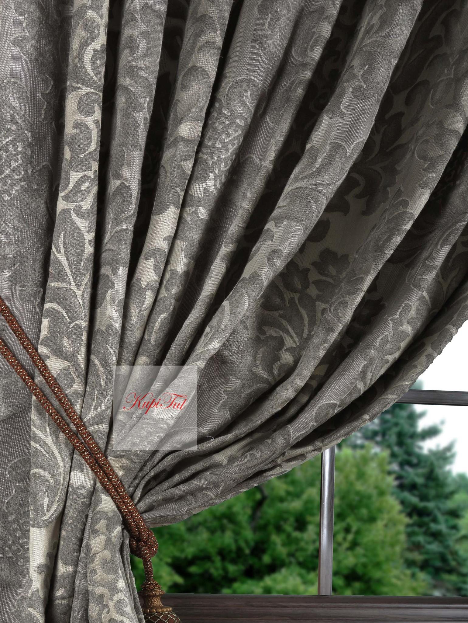 Длинные шторы Октавио-2