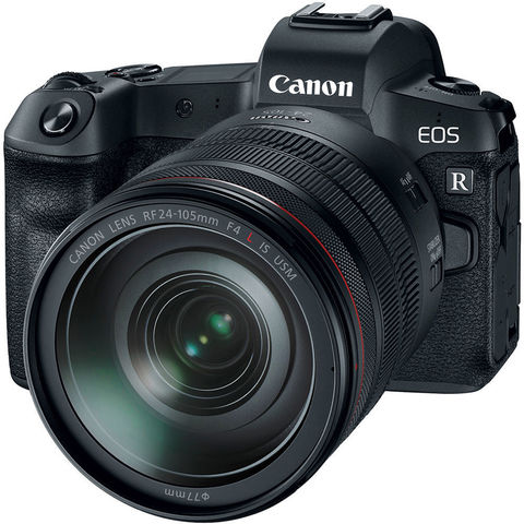 Фотоаппарат Canon EOS R Kit RF 24-105mm F4L ISEF + EF-EOS R адаптер
