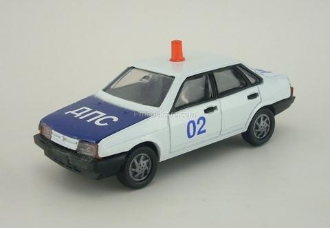 VAZ-21099 Lada DPS Police Agat Mossar Tantal 1:43