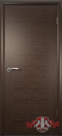 Дверь Владимирская фабрика дверей 8ДГ4, цвет венге, глухая