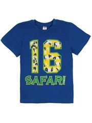 1180-16 футболка детская, синяя