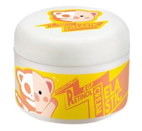 Крем для лица с ретинолом и фактором роста EGF Milky Piggy Retinol Cream Elizavecca