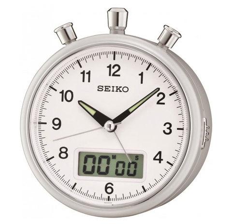 Настольные часы-будильник Seiko QHE114SN