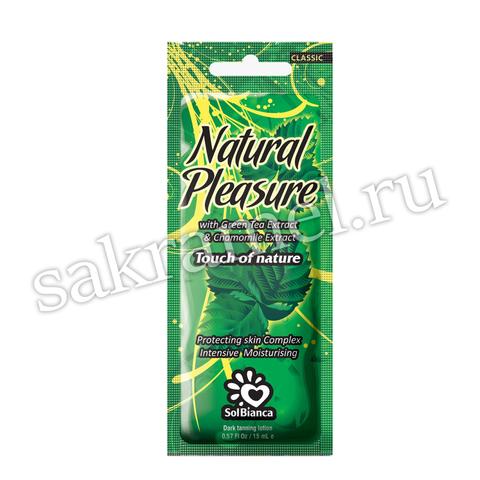 Крем SolBianca\Natural Pleasure с экстрактом зеленого чая и экстрактом ромашки 15 мл