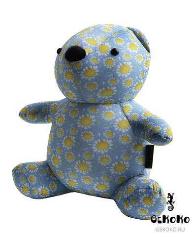 Подушка-игрушка антистресс «МиниМишка Ромашковый» 3