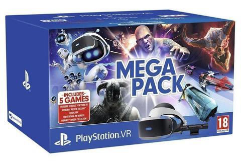 Sony PlayStation Шлем виртуальной реальности PlayStation VR + Камера + 5 игр