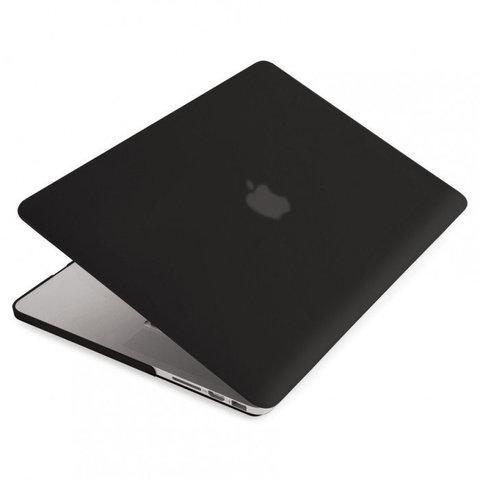 Накладка пластик MacBook Pro 13,3 /matte black/ DDC