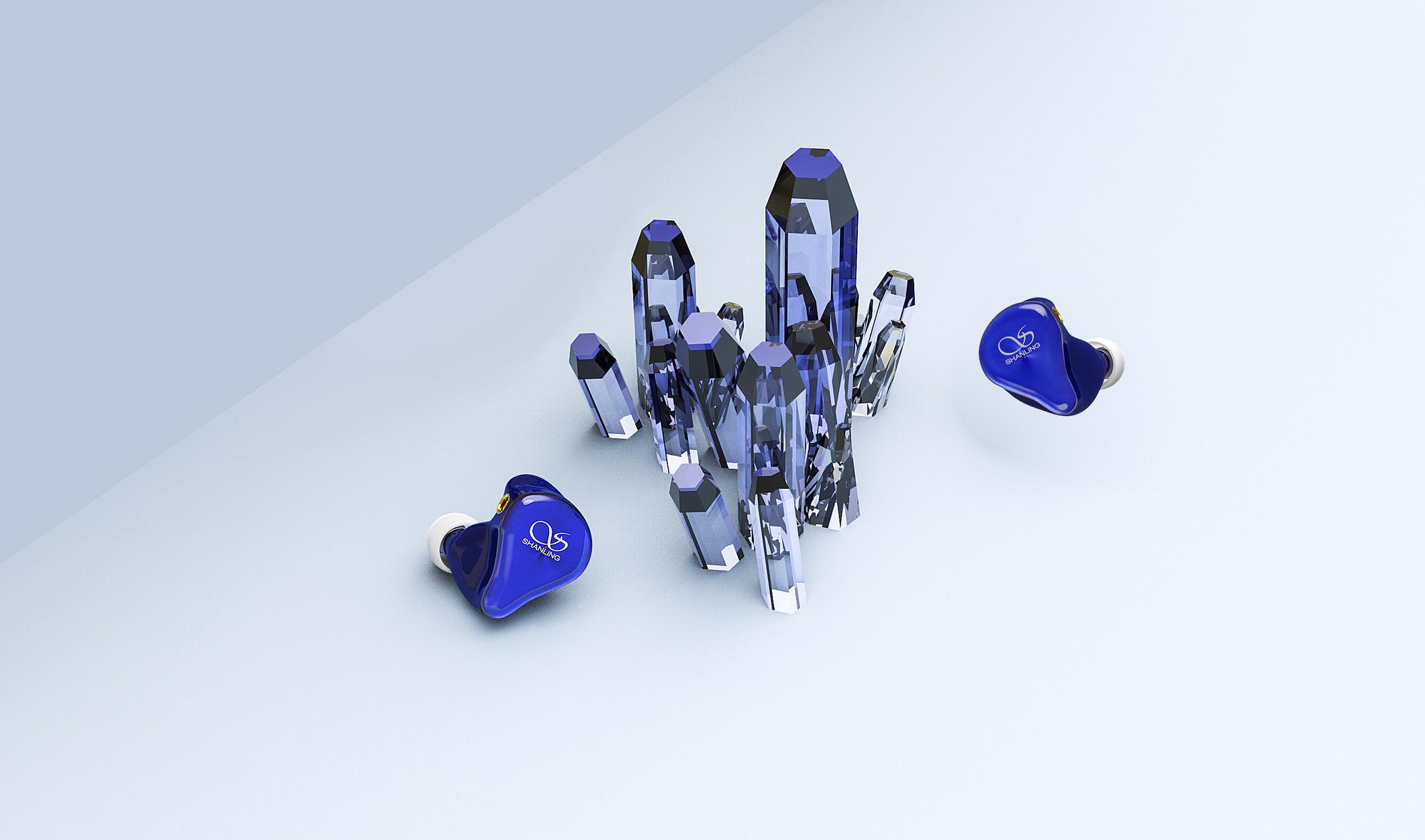 Shanling ME200 dark blue, внутриканальные наушники
