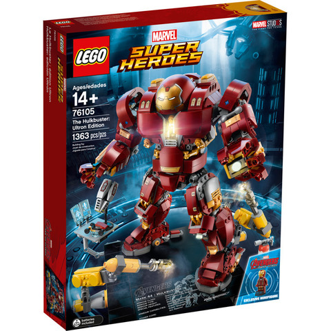 LEGO Super Heroes: Халкбастер: Эра Альтрона 76105 — The Hulkbuster: Ultron Edition — Лего Супергерои Марвел