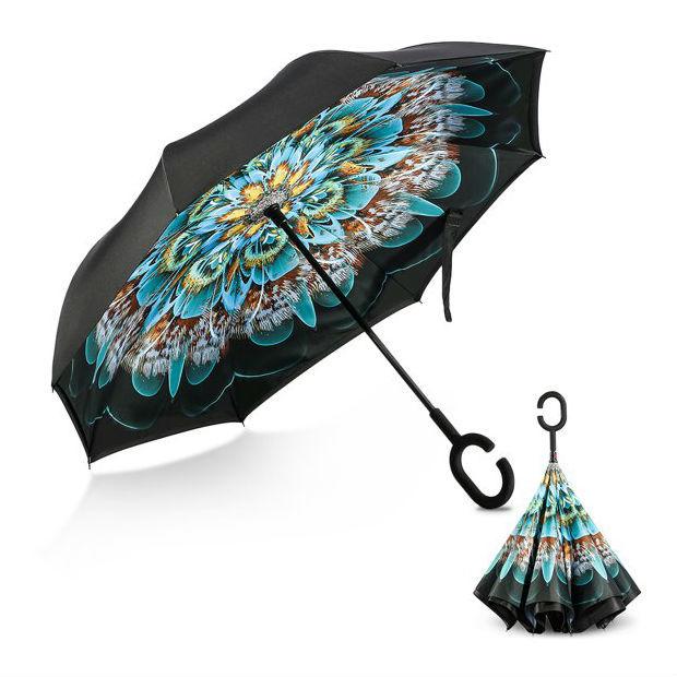 "Зонты Зонт-наоборот ""Перо павлина"" 960ff57c9b3e1c02315a47bcbda3ec60.jpg"