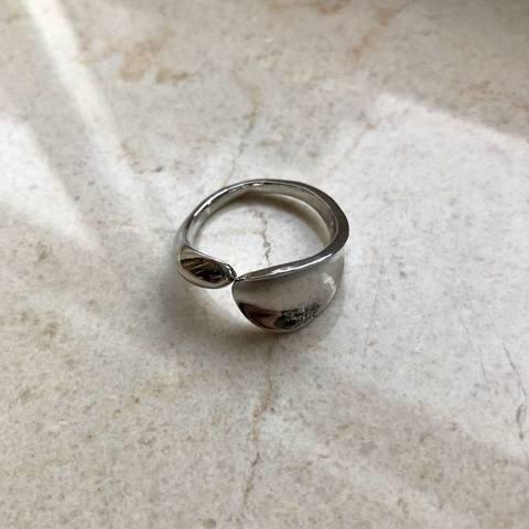 Кольцо Арма, серебряный цвет