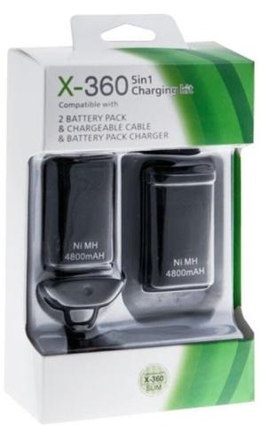 Xbox 360 Slim Зарядный комплект (5 в 1)
