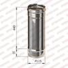 Труба моно 0,5м d115мм (430/0,5мм) Ferrum