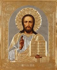 Икона Спасителя (в золоченой ризе) 2