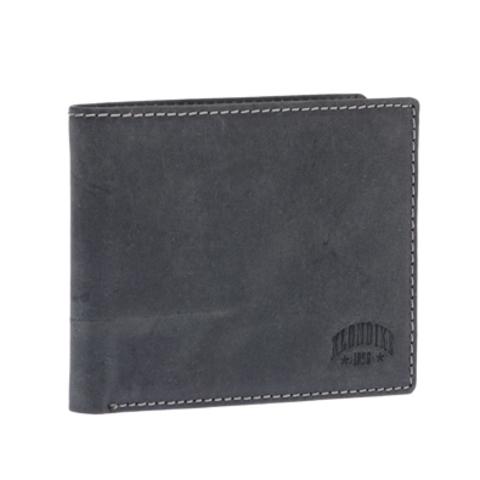 Кожаный бумажник Klondike 1896 «Yukon black», 9 отделений, Germany, фото 5