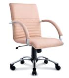 Стул-кресло для персонала на роликовой опоре Синди D80