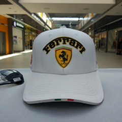 Кепка Феррари (Бейсболка Ferrari) белая