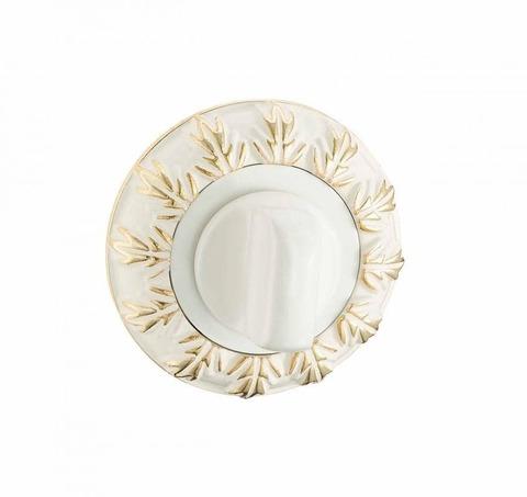 Фурнитура - Завёртка  Vantage BK10 WG, цвет белый/золото  (гарантия - 12 месяцев)