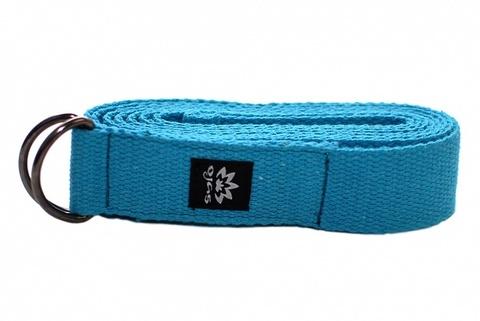 Ремень Ojas хлопок 240 х 4 см для йоги