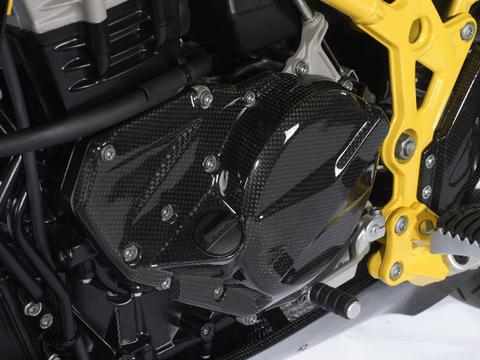 Крышка двигателя (левосторонняя) BMW F650/700/800GS/GSA карбон