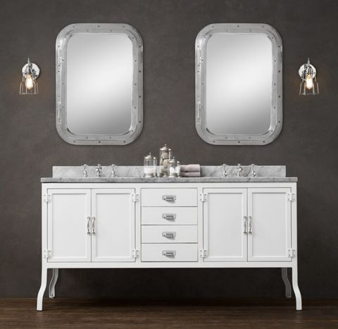 Pharmacy Double Vanity