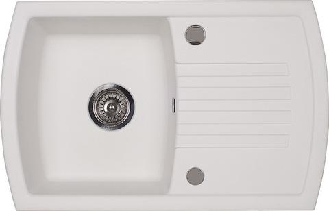 Мойка для кухни Kuppersberg ALBA 1B1D WHITE ALABAS.