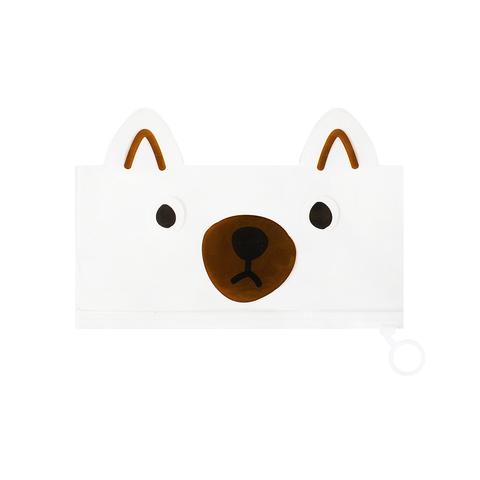 Пенал-косметичка Favorite Animal Brown