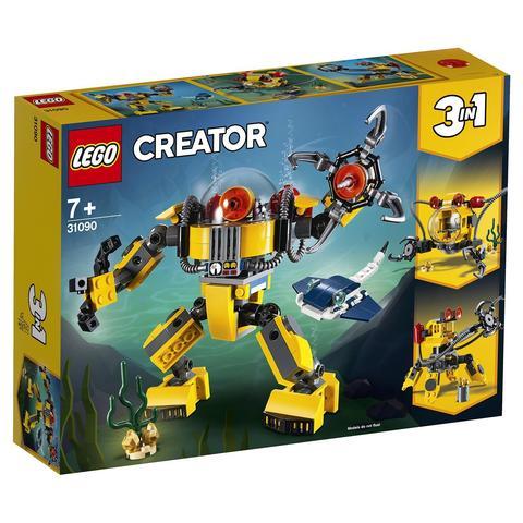 LEGO Creator: Робот для подводных исследований 31090 — Underwater Robot — Лего Креатор Создатель