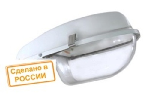Светильник ЛКУ 97-125-002 Е40 со стеклом TDM