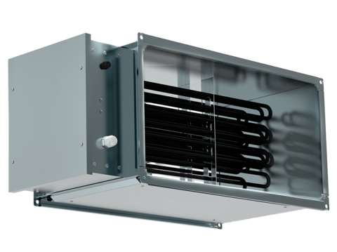 Нагреватель электрический для прямоугольных каналов EHR 1000500-45