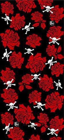 Многофункциональная бандана-труба Buff Bones And Roses