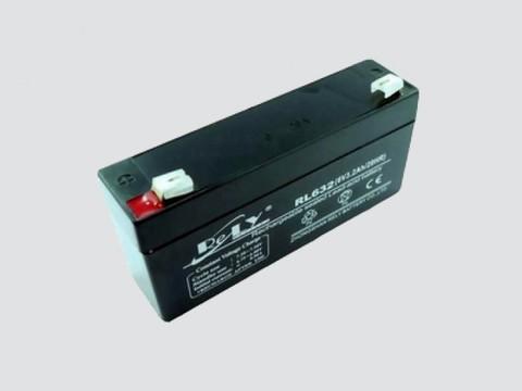 Аккумулятор свинцово-кислотный 6V, 3.2Ah SC-632(3FM3.2) 134*35*61мм