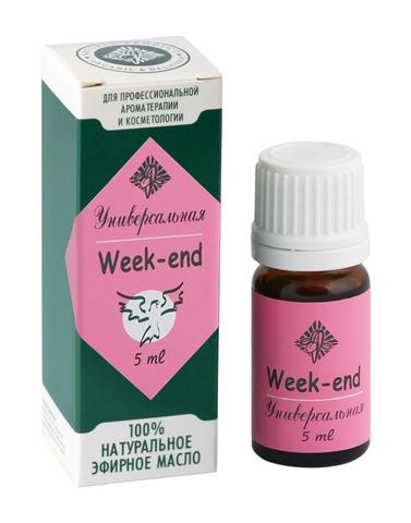 Вдохновляющий праздничный аромат Week-End, 5 мл, ЦА ИРИС