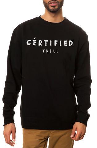 Свитшот Dope Certified черный