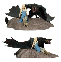 Игра Престолов статуэтка Дейнерис и Дрогон — Game of Thrones Daenerys and Drogon Statue