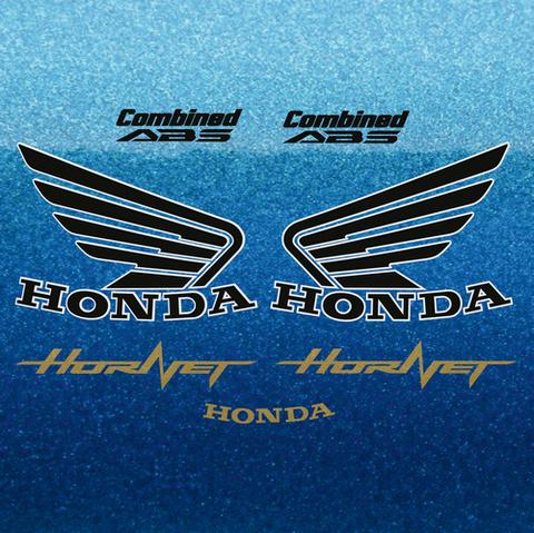 Набор виниловых наклеек на мотоцикл HONDA CB600F HORNET 2012