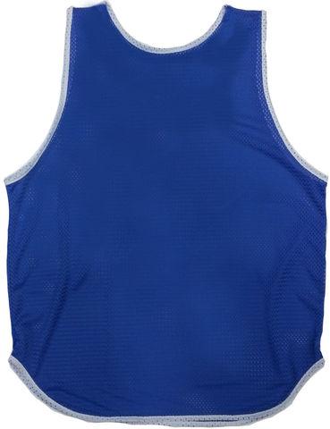 Манишка сетка аналог Adidas синяя