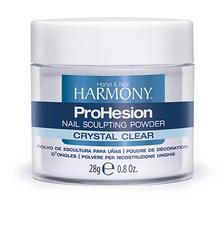 HARMONY ProHesion Crystal Clear Powder - прозрачная акриловая пудра, 28 г