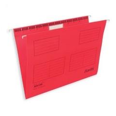 Подвесная регистратура папка BANTEX красная А4, 25 шт. Дания 100331435/3460