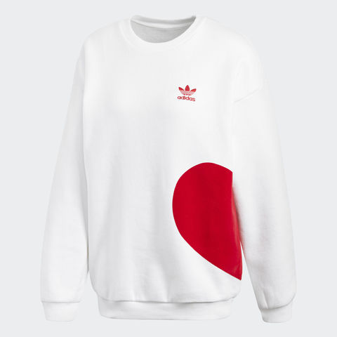 Свитшот женский adidas ORIGINALS VALENTINE'S DAY