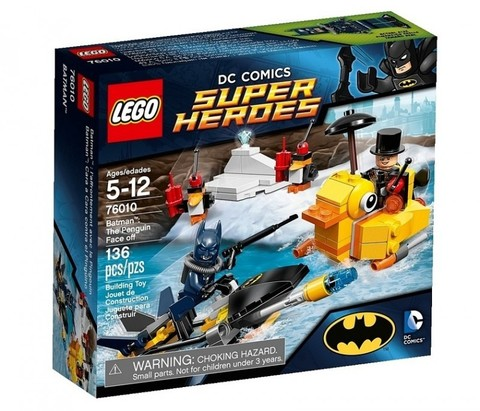 LEGO Super Heroes: Пингвин даёт отпор 76010 — Batman: The Penguin Face off — Лего Супергерои ДиСи