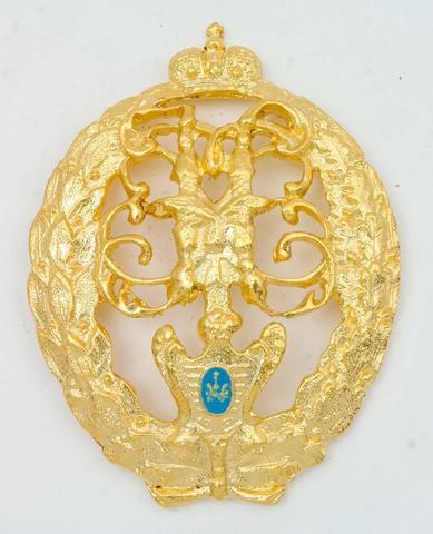 Знак 15-ого Шлиссельбургского полка