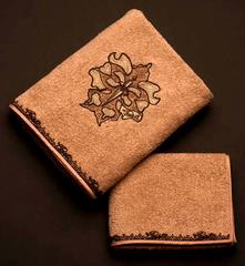 Набор полотенец 2 шт Cesare Paciotti Libellula розовый