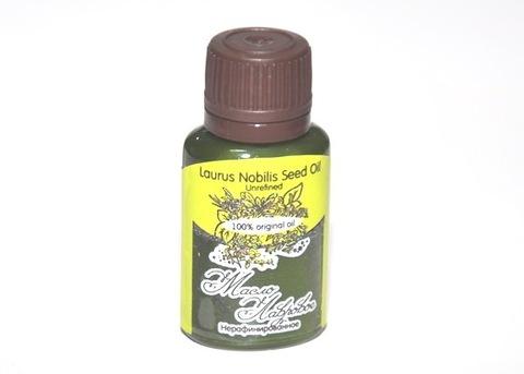 Масло ЛАВРОВОЕ/ Laurus Nobilis Seed Oil Unrefined / нерафинированное/ 20 ml