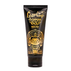 Маска-плёнка Elizavecca Hell-Pore Longolongo Gronique Gold Mask Pack золотая