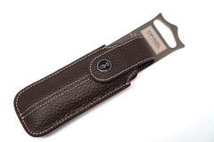 Чехол Opinel Chic brown leather
