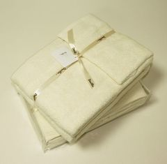 Полотенце 100х150 Devilla Baht&Co экрю