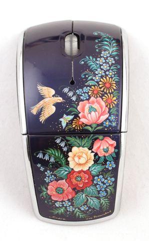 Мышь компьютерная с ручной росписью 1447