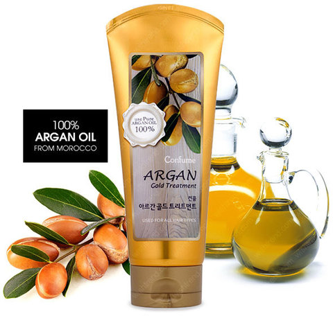 WELCOS Argan Gold Treatment 200g Маска для волос с маслом арганы